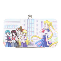 Sailor Moon School Girls Hinge Wallet