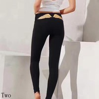 Victoria's Secret Women Fashion Casual Tight Stretch Sport Pants Trousers