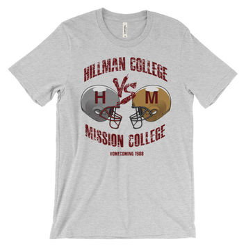 """Hillman Vs Mission"" Unisex Short Sleeve T-Shirt"