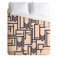 Gabi Matters of the Heart Duvet Cover