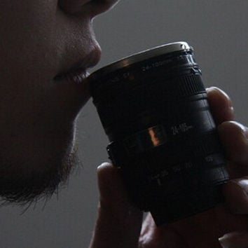 Mini Pocket Camera Lens Coffee Mug Best Gift