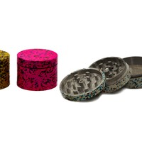 Paint Splatter Herb Grinder