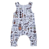 Pudcoco Fashion Tops Baby Kids Boy Girl Infant Romper Jumpsuit Sleeveless Cotton Clothes Outfit Clothing Babys