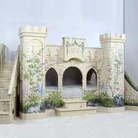 Woodland Princess Castle Bunk Bed
