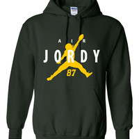 Air Jordy Great Packers Fan Green Bay Fan Hoodie Super Bowl Bound Packers Sweatshirt Unisex Green Bay Hoodie Hunter