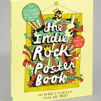The Indie Rock Poster Book | Yellow Bird Project | fredflare.com