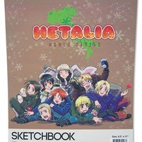 Hetalia World Series Group Sketchbook