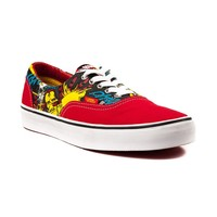 Vans Era Iron Man Skate Shoe, RedGray  Journeys Shoes