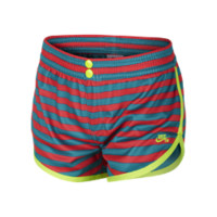 Nike SB Striped Elle Mesh Girls' Shorts - Teal