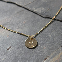 LA Hearts Scorpio Zodiac Necklace at PacSun.com
