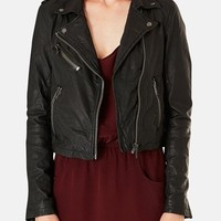 Topshop Boutique Leather Moto