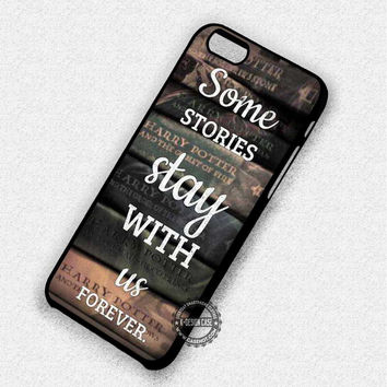 Harry Potter Books - iPhone 7 Plus 6 5 4 Cases & Covers