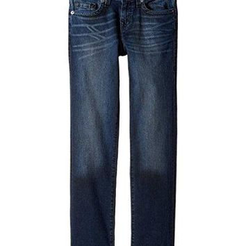 True Religion Big Boys' Geno Jean, Blue Asphalt, 16