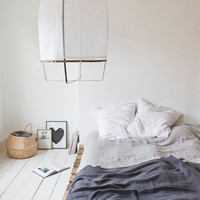 Linen duvet cover 220 x 240 cm - Light Grey — Bodie and Fou - Award-winning inspiring concept store