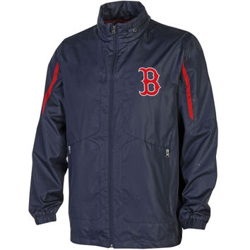 Boston Red Sox Competitor Full Zip Jacket - Navy Blue