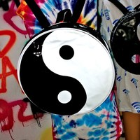 SWEET LORD O'MIGHTY! THA YING YANG PVC BACKPACK