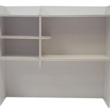 Deco Dorm Bookshelf - Cheap Dorm Furniture Dorm Desk Bookshelf