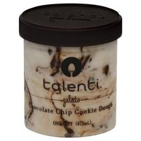 Talenti Chocolate Chip Cookie Dough Gelato Ice Cream 1 pt