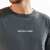 Wildroot Embroidered Mentally Gone Tee | Urban Outfitters