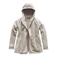 Women's Crescent Wrap in Wild Oat Heather by The North Face