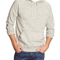Banana Republic Mens Factory Heathered Pullover Hoodie