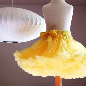 Adult Pettiskirt  You Pick Size and Color by DreamSpunKids on Etsy