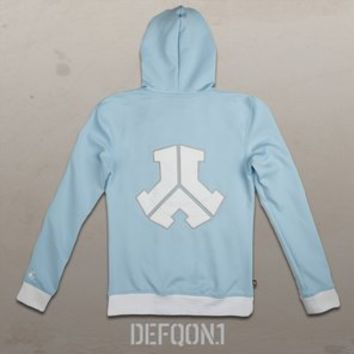 Defqon.1 Track Jacket Light Blue, Women | Q-dance Store