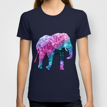 abstract elephant T-shirt by Ancello