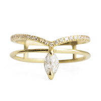 Phoenix Diamond Ring - ILA - Catbird