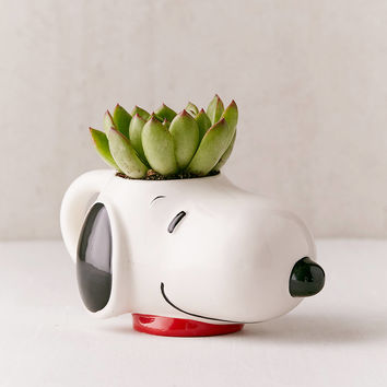 Snoopy Head Mug | Urban Outfitters
