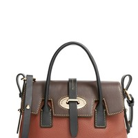 Dooney & Bourke 'Verona Small Elisa' Grained Leather Satchel
