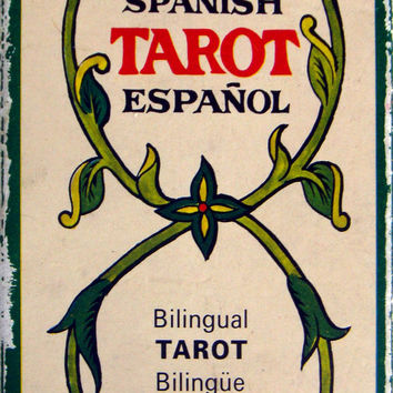 Spanish bilingual tarot - Printed 1976 by Fournier