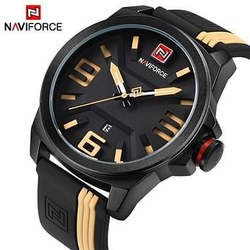 2017 NEW NAVIFORCE Men Fashion Casual Sport Watches