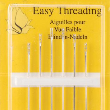 Size 4/8 6/Pkg John James Easy Threading Calyxeye Hand Needles