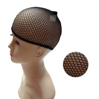 wig cap (Color: Black) = 1958119300