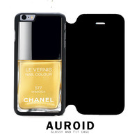 Chanel Nail Polish Mimosa iPhone 6S Plus Flip Case Auroid