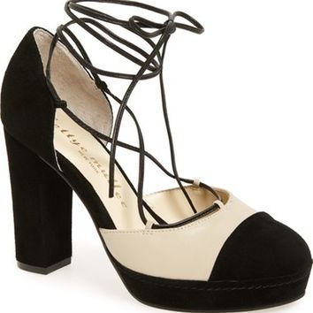 Bettye Muller 'Madison' Cap Toe Platform Pump (Women) | Nordstrom