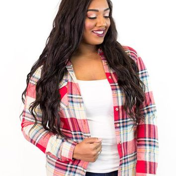 Gage Plaid Flannel Shirt