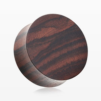 A Pair of Rosewood Double Flared Plug