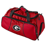Georgia Bulldogs NCAA Athletic Duffel Bag