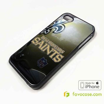 NEW ORLEANS SAINTS Football Team NFL iPhone 4/4S 5/5S/SE 5C 6/6S 7 8 Plus X Case Cover