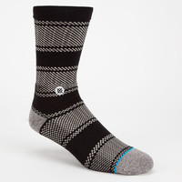 Stance Chicklet Mens Socks Black/Grey One Size For Men 24711912701