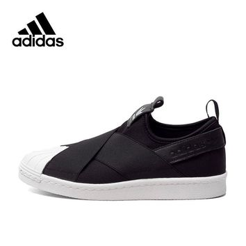 Original New Arrival Adidas Authentic 2017 Year Superstar Women's Skateboarding Shoes