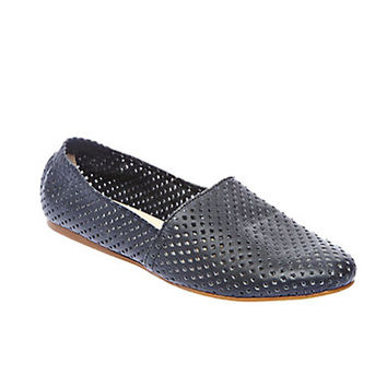 Steve Madden Sweet Perforated Leather Flats