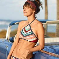 Aerie Real Obsessed™ Crop Bikini Top , Fresh Bright