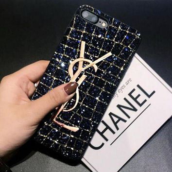 YSL Yves Saint Laurent Personality All-inclusive Anti-fall iPhoneX Phone Case F/I12787-1