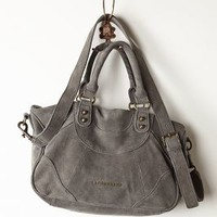 Suede Moto Satchel by Liebeskind Light Grey One Size Bags
