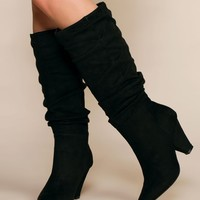 Cassie Pointy Toe Slouchy Boots