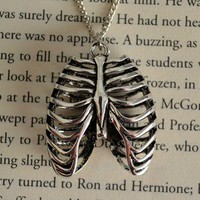 Anatomical Rib Cage Necklace