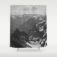 Archangel Valley Shower Curtain by Kevin Russ